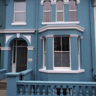 A recent exterior... #Brightondecorator #Brighton #exteriordecoratingsussex